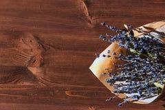 淡紫色花束 图库摄影