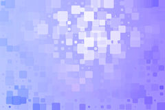 淡紫色蓝色白色发光的各种各样的瓦片背景 库存照片