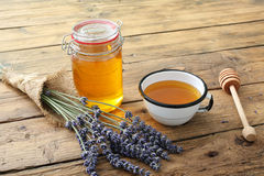 淡紫色蜂蜜 库存照片