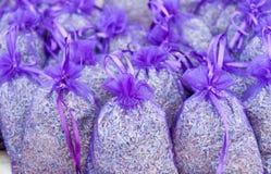 淡紫色袋子 库存照片
