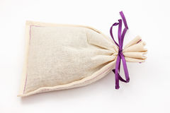 淡紫色袋子 免版税库存照片