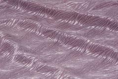 淡紫色织品 库存照片