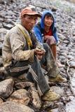 淡水鱼,缅甸 免版税库存照片