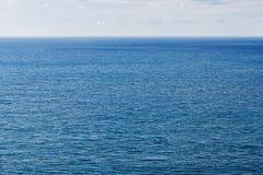 深刻的大海海纹理 免版税库存照片