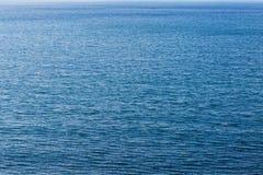 深刻的大海海纹理 免版税库存图片