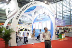 深圳国际饭店设备和供应陈列,在中国 库存照片