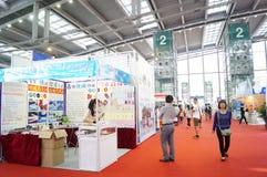 深圳国际饭店设备和供应陈列,在中国 免版税图库摄影