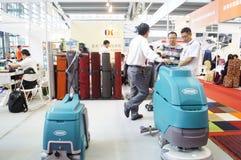 深圳国际饭店设备和供应陈列,在中国 图库摄影