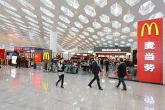 深圳宝安国际机场 免版税库存照片