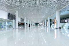 深圳机场内部 免版税库存图片