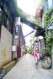 深圳瓷: f518创造性的工业园 库存图片