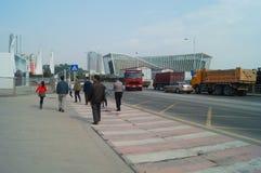深圳蛇口街道风景 库存图片