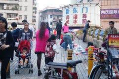 深圳西乡市场 免版税库存图片