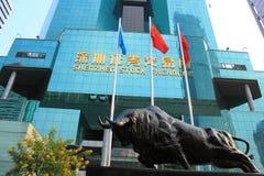 深圳证券交易所 免版税库存图片