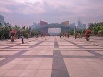 深圳,中国的公民中心 免版税库存照片