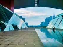 深圳,中国的公民中心 图库摄影