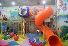 深圳,中国:儿童的娱乐中心 免版税库存照片
