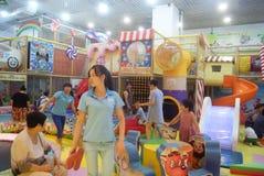 深圳,中国:儿童的娱乐中心 免版税图库摄影