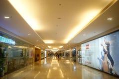 深圳,中国:地下商业广场 图库摄影