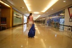 深圳,中国:地下商业广场 免版税库存图片