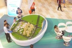 深圳,中国:房地产销售 免版税库存图片