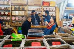 深圳,中国:购物节 库存照片
