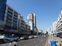深圳,中国:liutang商业街风景 库存照片