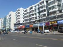 深圳,中国:liutang商业街风景 库存图片