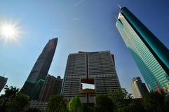 深圳,中国- 8月03,2011 免版税库存照片