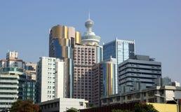深圳,现代城市在中国 免版税库存照片