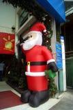 深圳,瓷:圣诞老人超级市场  免版税库存图片