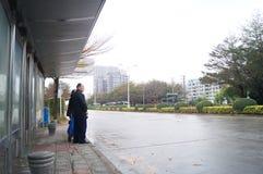 深圳,瓷:城市交通 图库摄影