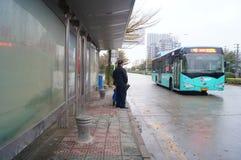 深圳,瓷:城市交通 库存照片