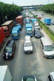 深圳,瓷:107国民公路交通风景 库存图片