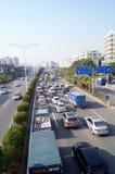 深圳107状态公路运输风景 免版税库存照片
