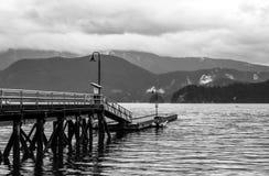 深小海湾,温哥华,加拿大 库存照片