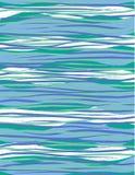 深数据条冲浪波浪 免版税库存照片