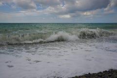 深海水波 图库摄影
