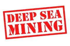 深海采矿 库存照片