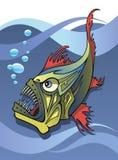 深海鱼 免版税库存照片