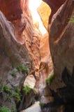 深深峡谷 库存照片