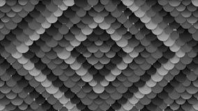 深灰圈子样式录影动画 库存例证