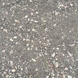 深灰老沥青石渣 库存照片
