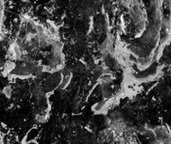 深灰自然无缝的大理石石纹理样式背景 与裂缝的概略的自然石无缝的大理石纹理表面 免版税库存图片