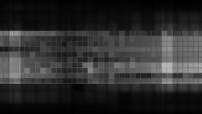 深灰pixelated正方形马赛克录影动画 库存例证