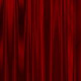 深红的丝绸 免版税库存图片