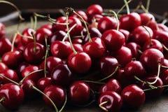 深红的樱桃 免版税图库摄影
