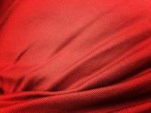 深红织品抽象背景纹理 免版税图库摄影