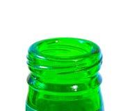 深绿色脖子 库存照片