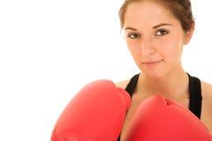 深色的健身性感的妇女 免版税库存图片
